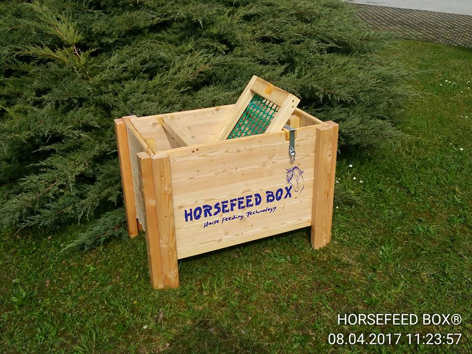 HORSEFEED BOX® - SIBERIAN GOLD LARCH SHORT