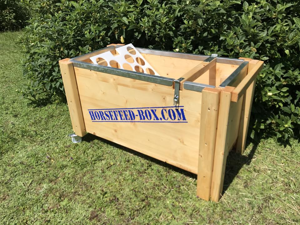HORSEFEED BOX CLASSIC DRIVE - Heukiste - Slow Feeder