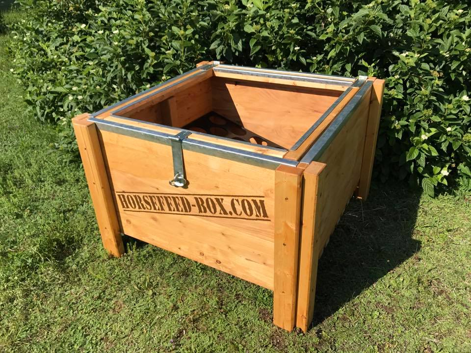 HORSEFEED BOX® CLASSIC QUATTRO BIG & HIGH XL - Modell 2019