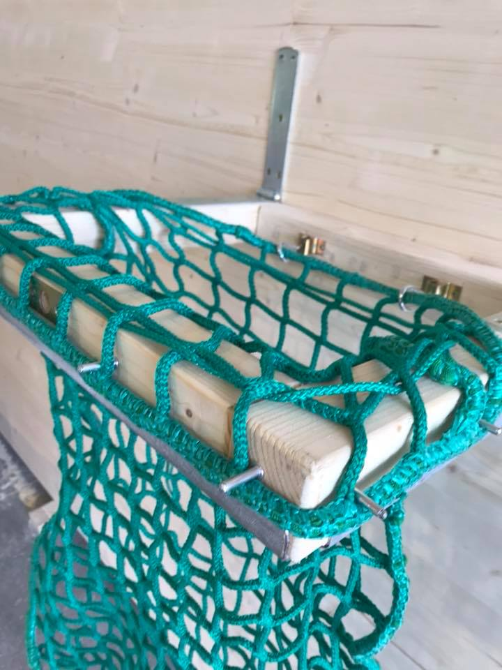 HORSEFEED BOX® HAY-NET - DeLuxe Wall Filler