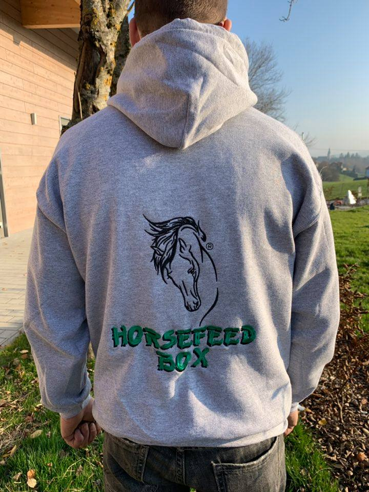HORSEFEED BOX® Heavy Blend Workwear Hooded Sweat