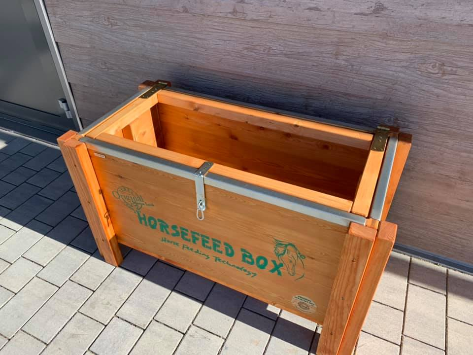 HORSEFEED BOX® - PREMIUM SIBERIAN GOLD LARCH Long - Modell 2019