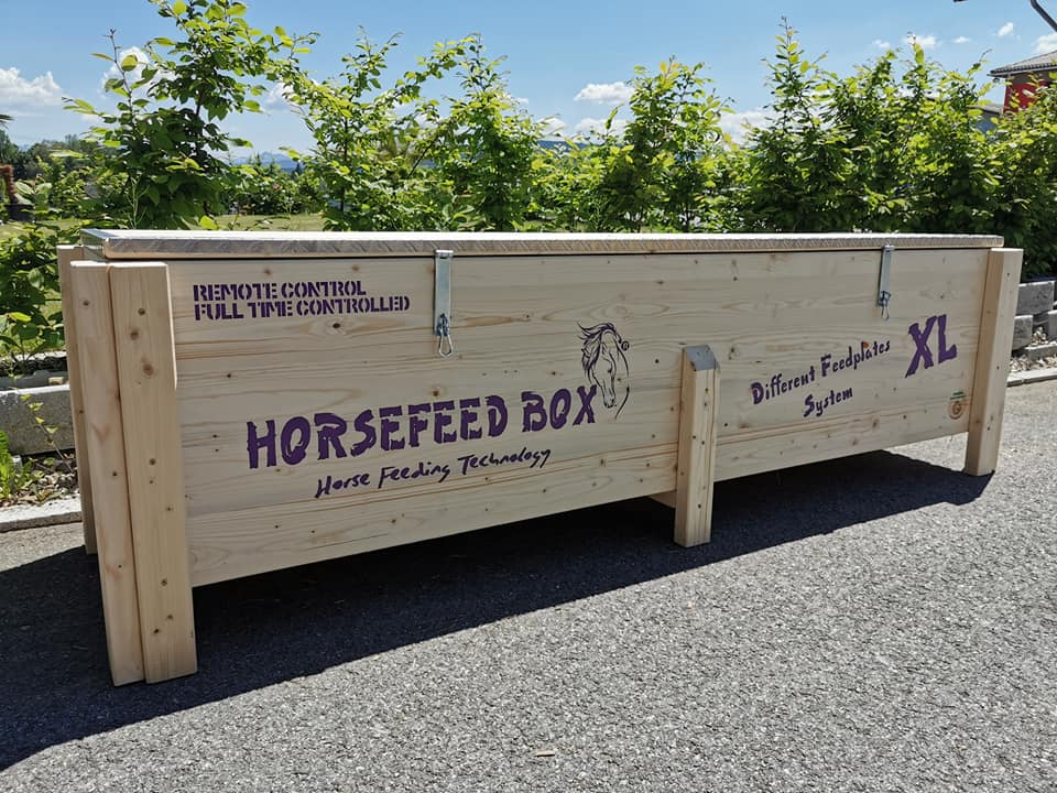 Original HORSEFEED BOX® CLASSIC FULL TIME CONTROLLED D.E.E.P. XL