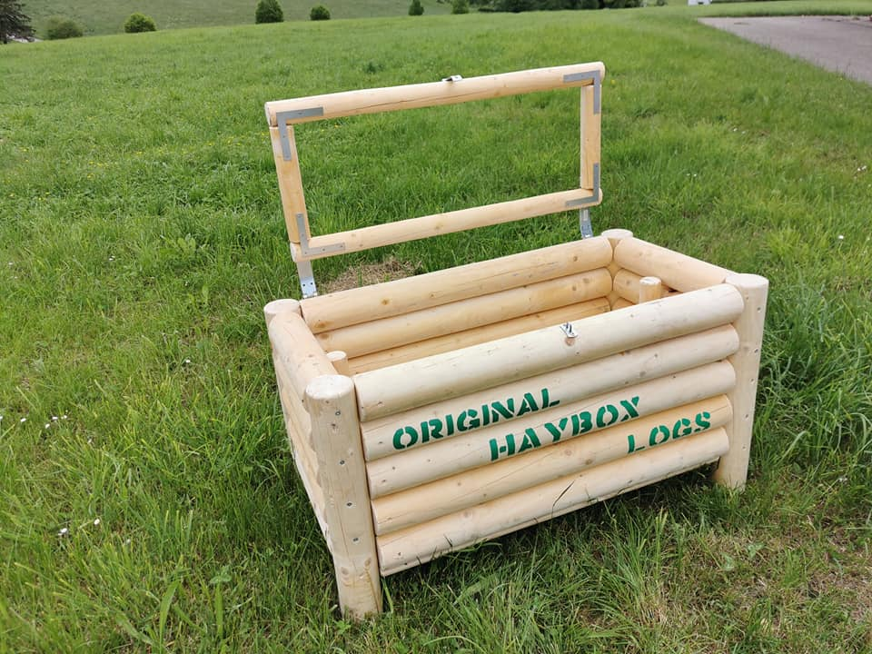 Original HAYBOX LOGS CLASSIC - Heukiste - Slow Feeder - Heubox