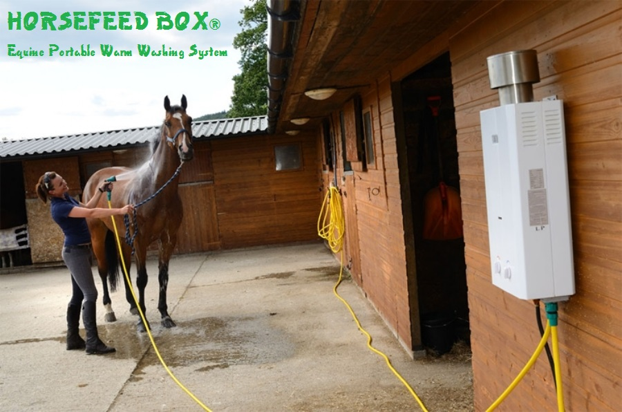 HORSEFEED BOX® Equine Portable Warm Washing System